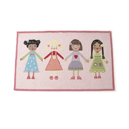 The Little Acorn Best Friends Area Rug