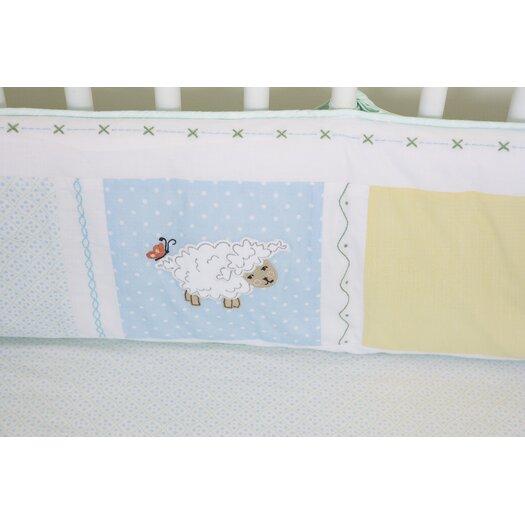 The Little Acorn Sweet Pea Baby Crib Bedding Set