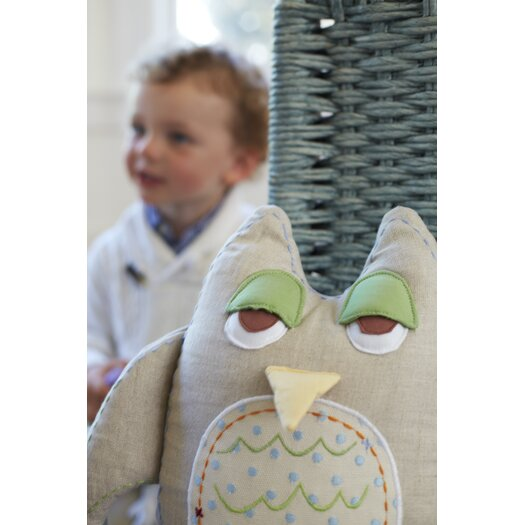 The Little Acorn Baby Owls Pillow