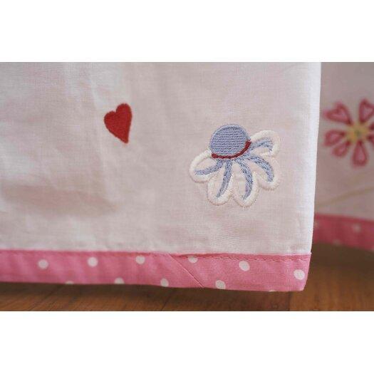 The Little Acorn Natureland Fairies Bed Skirt