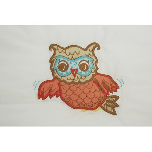 The Little Acorn Baby Owls Quilt