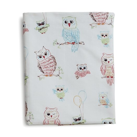 The Little Acorn Baby Owls Fitted Sheet