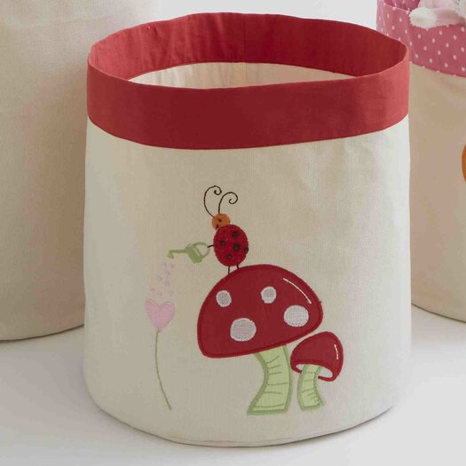 The Little Acorn Alphabet Adventure Mushroom Toy Storage Bin