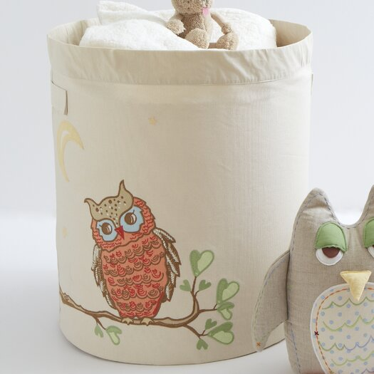 The Little Acorn Baby Owls Mama Owl Toy Storage Bin
