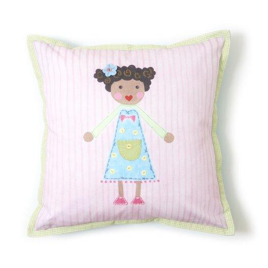 The Little Acorn Girl Pillow