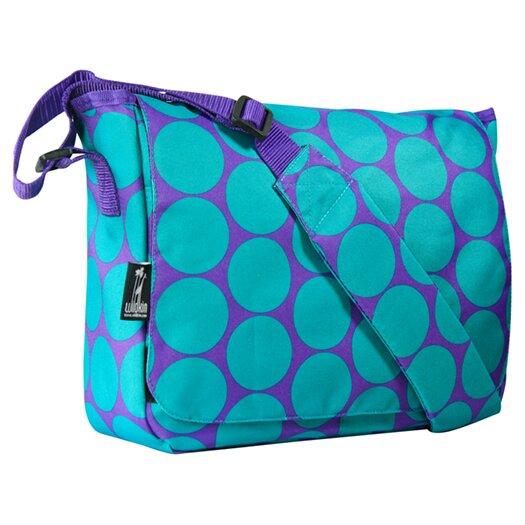 Wildkin Big Dots Kickstart Messenger Bag