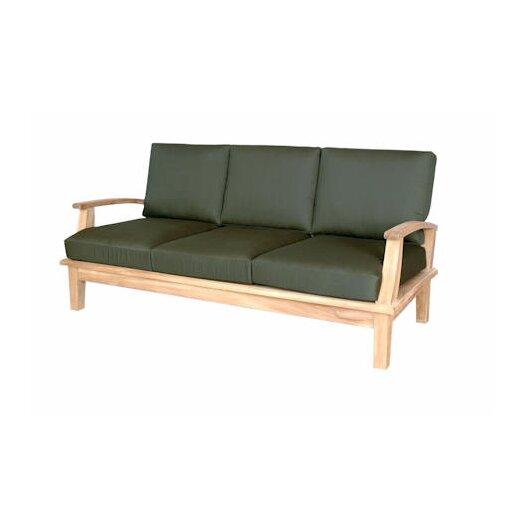Anderson Teak Brianna Deep Seating Sofa with Cushions