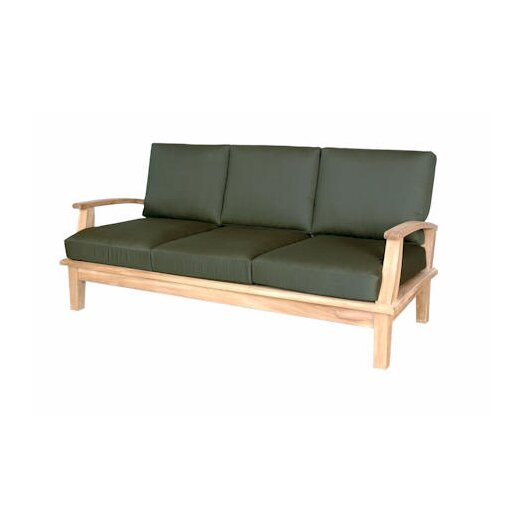 Anderson Teak Brianna Deep Seating Sofa with Cushions