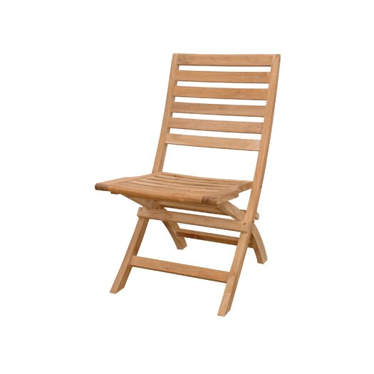 Anderson Teak Andrew Folding Dining Side Chair  (Set of 2)
