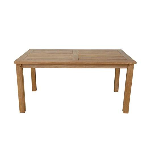 Anderson Teak Montage Rectangular Dining Table