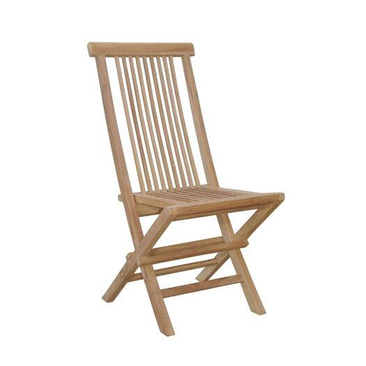 Anderson Teak Bristol Folding Chair