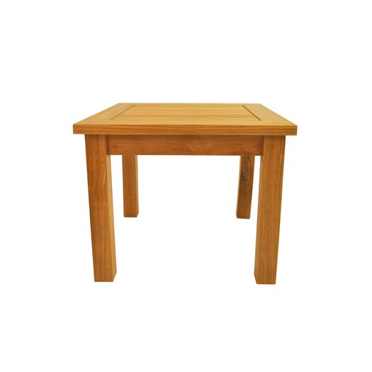 "Anderson Teak Bahama 20"" Square Mini Table"