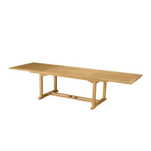 "Anderson Teak Bahama 118"" Rectangular Extension Table"