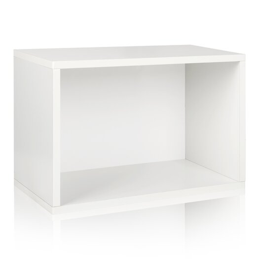 """Way Basics zBoard Eco Stackable 15.5"""" Shelf and Shoe Rack"""