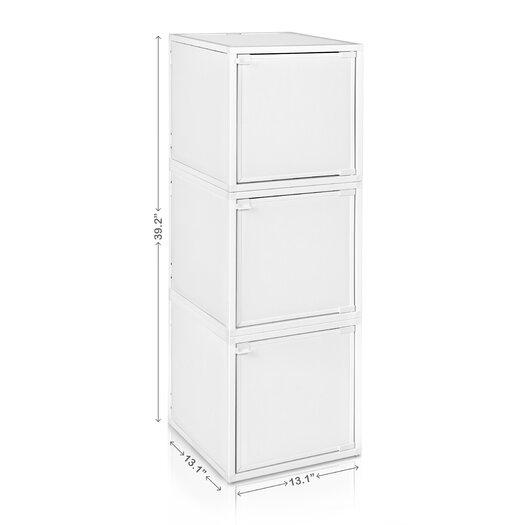 Way Basics 3 Cube Modular Storage Box
