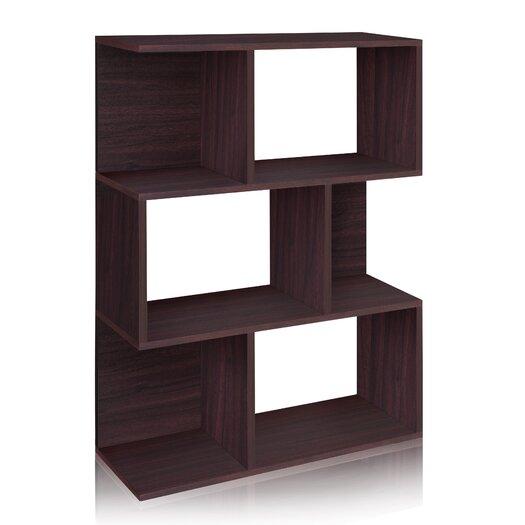 "Way Basics zBoard Eco Madison 44.8"" Bookcase, Room Divider and Storage Shelf"