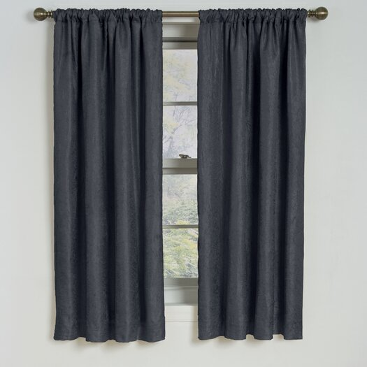 Eclipse Curtains Milano  Rod Pocket Window Curtain Panel