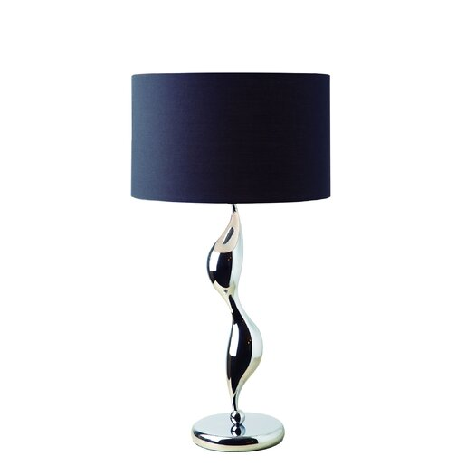 "Gen-Lite Shadow 27.75"" H Table Lamp with Drum Shade"