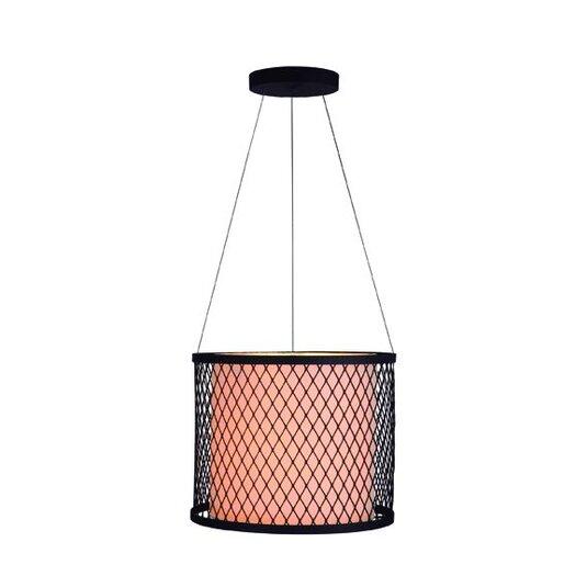 Gen-Lite Industrial Chic III 2 Light Drum Pendant