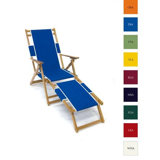 Frankford Umbrellas Oak Wood Beach Chair