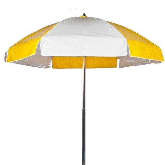 Frankford Umbrellas 6.5' Lifeguard Umbrella - Vinyl with Alternating Panels