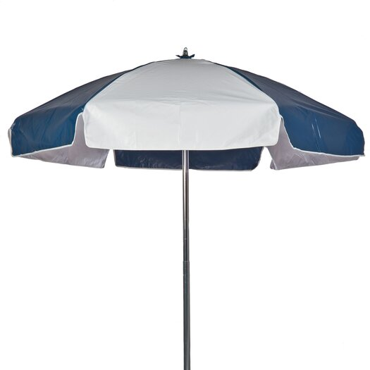 Frankford Umbrellas 6.5' Lifeguard Umbrella - Vinyl with Alternating Panels