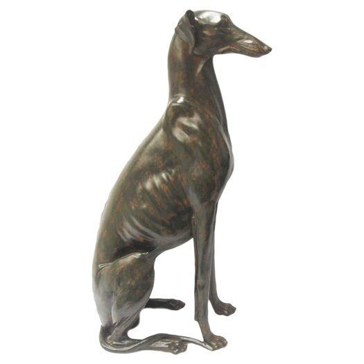 Moe's Home Collection Sitting Dog Statue