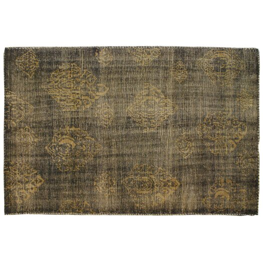 Moe's Home Collection Black/Gold Area Rug
