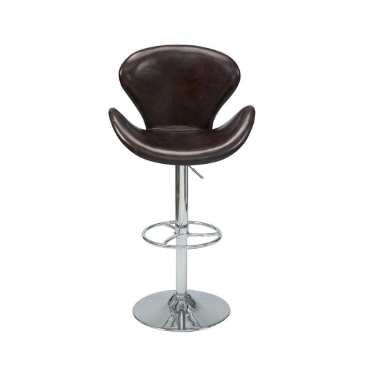 Moe's Home Collection Brighton Adjustable Height Bar Stool