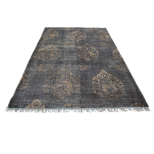 Moe's Home Collection Fringe Brown Area Rug