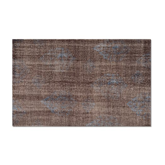 Moe's Home Collection Diamond Brown Area Rug