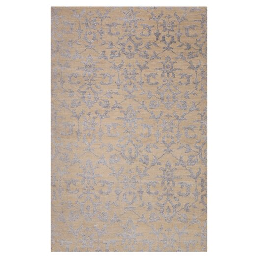 Moe's Home Collection Tan Plants Area Rug
