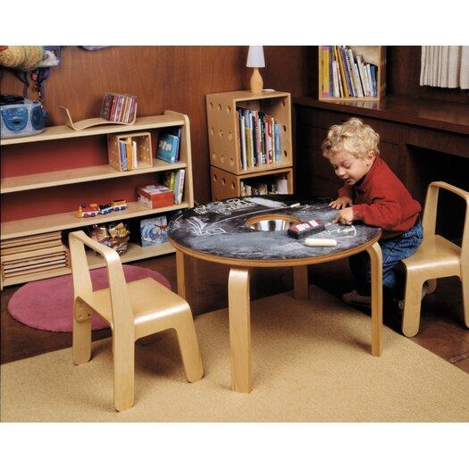 Offi Woody Chalkboard Kids Table