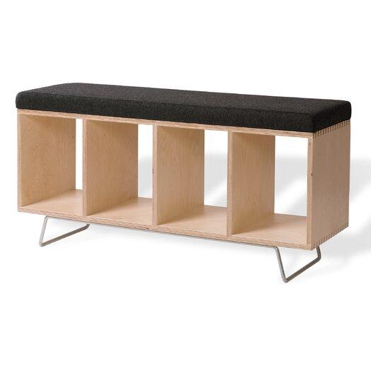 Offi Birch Wooden Storage Bench