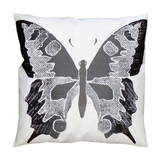 Entomology Butterfly Pillow