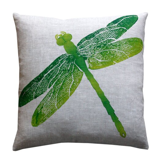 Dermond Peterson Entomology Dragon Fly Pillow