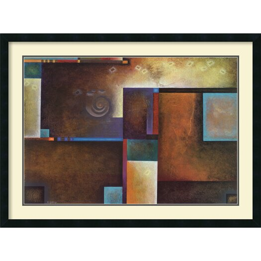 Amanti Art 'Satori I' by Mari Giddings Framed Graphic Art
