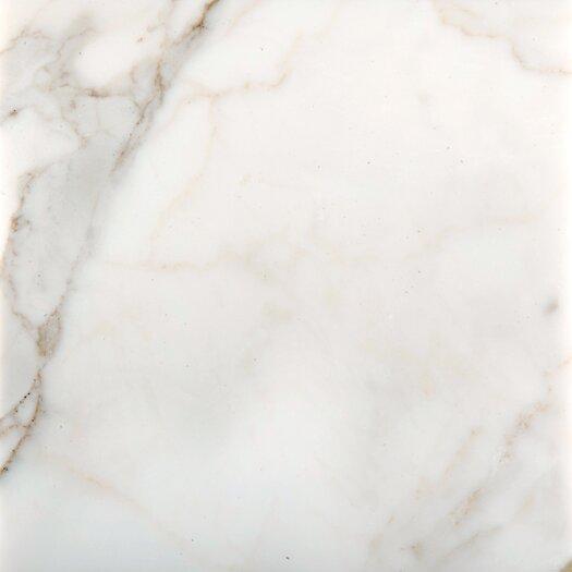 """Emser Tile Calacata Oro 12"""" x 12"""" Honed Marble Tile in Calacata"""