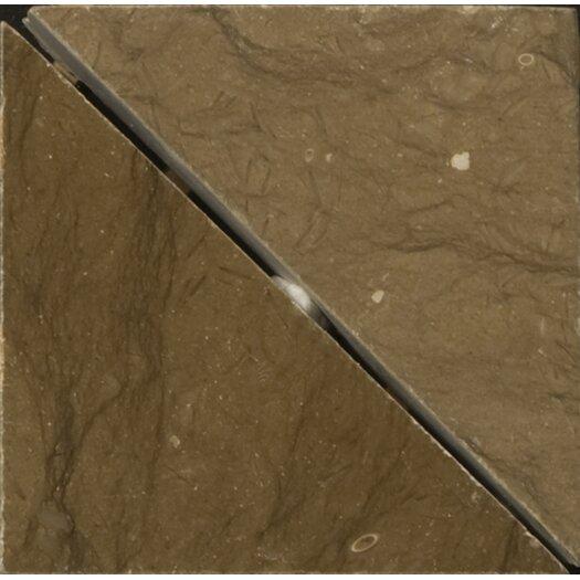 "Emser Tile Natural Stone 2"" x 2"" Limestone Lazio Listello Corner"
