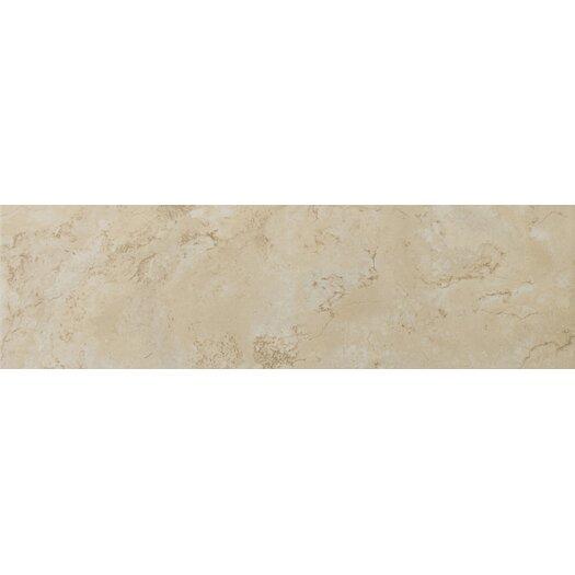 """Emser Tile Cordova 17"""" x 17"""" Glazed Ceramic Tile in Crema"""