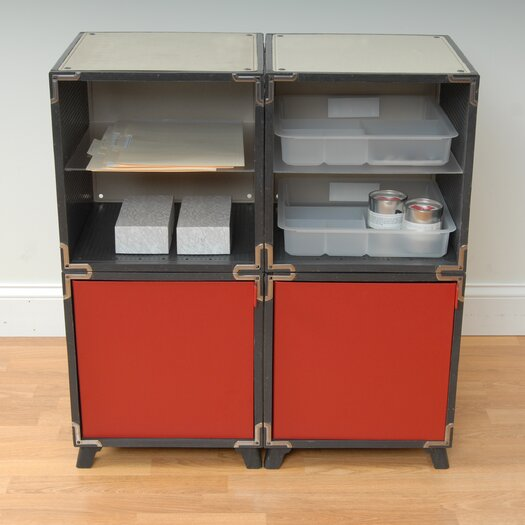 """Yube Cube 28.4"""" Mini-Office Supply Station"""