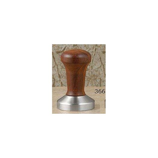 La Pavoni Stainless Steel and Wood Espresso Tamper