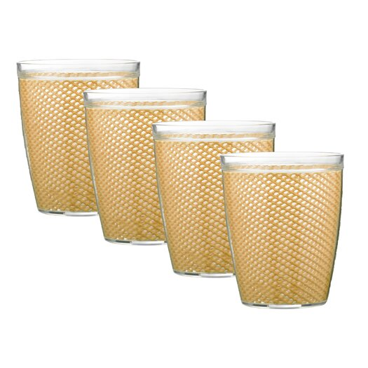 Kraftware Fishnet 14 Oz. Doublewall Insulated Tumbler