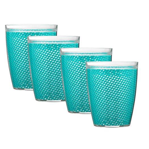 Kraftware Fishnet 14 Oz. Doublewall Insulated Tumbler