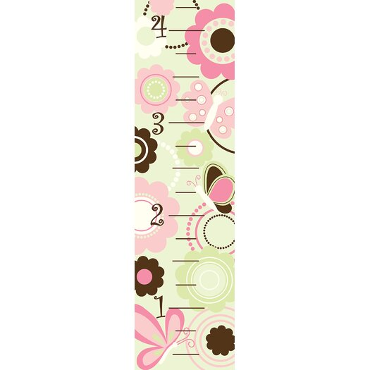 WallPops! Butterfly Garden Growth Chart