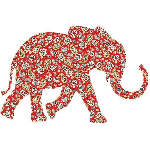 WallPops! ZooWallogy Mabuza The Elephant Wall Decal