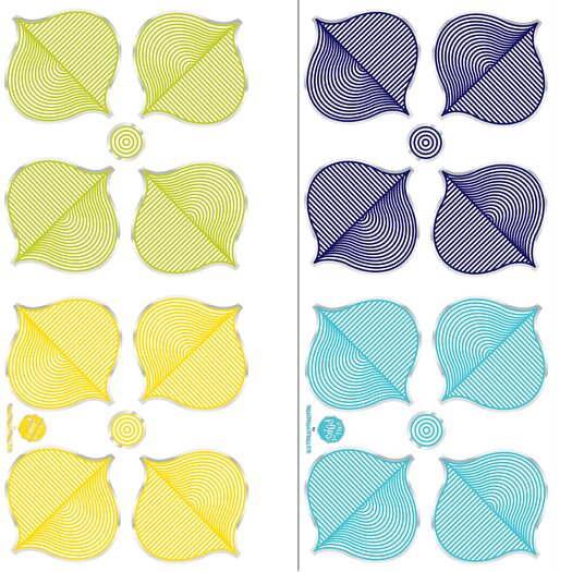 WallPops! Jonathan Adler Hollywood Wall Decal Kit