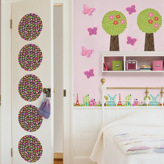 WallPops! Kids Dilly Dally Wall Decal