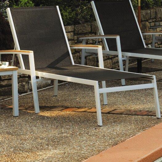 Oxford Garden Travira Chaise Lounge (Set of 4)
