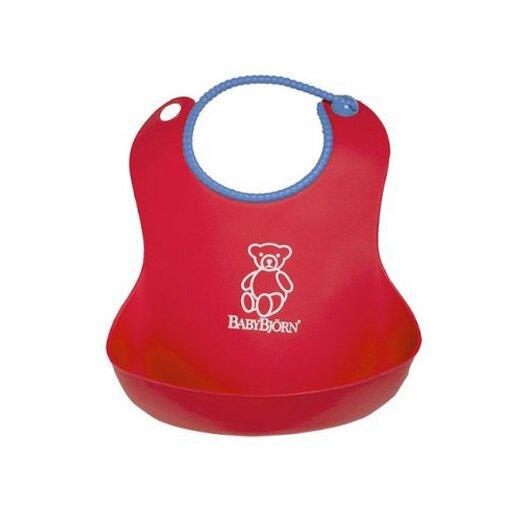 BabyBjorn Soft Bib in Red